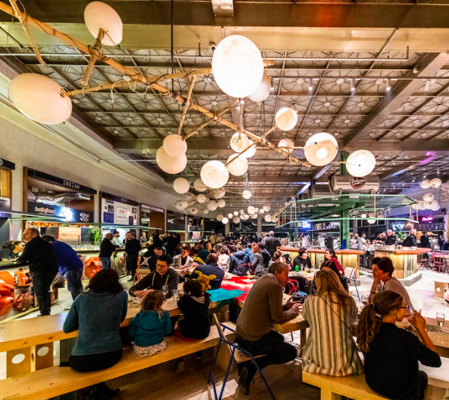 Wolf, le nouveau Food Market bruxellois ouvre ses portes ce samedi ...